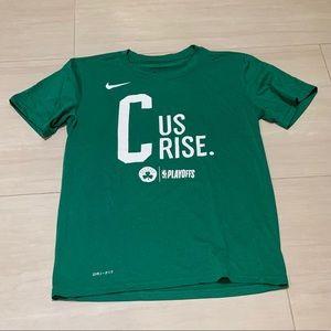 Boston Celtics C Us Rise DriFit Short Sleeve
